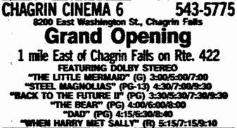 November 26th, 1989 grand opening ad