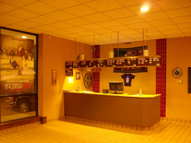 Box Office area