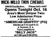 October 26th, 1974 grand opening