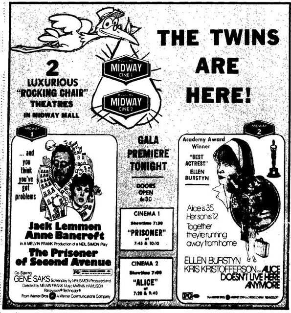 May 14th, 1975 grand opening ad