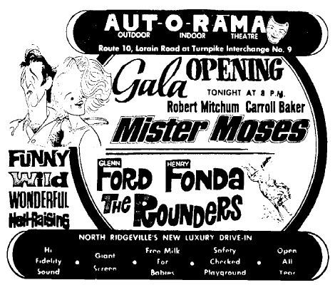 July 2nd, 1965 grand opening ad