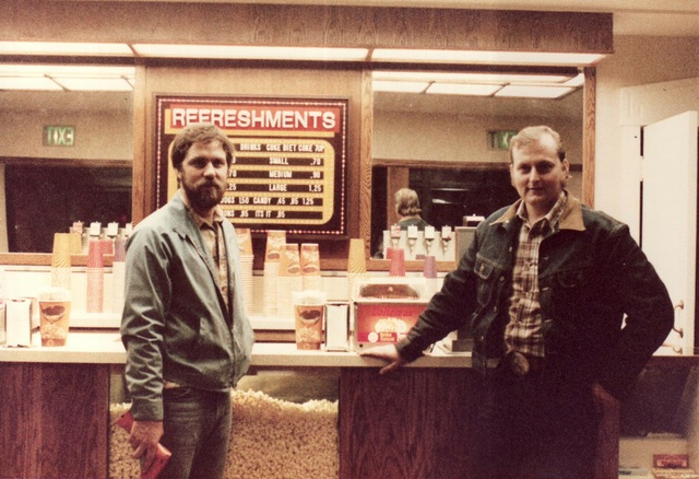 Berkeley Theater 80's remodel