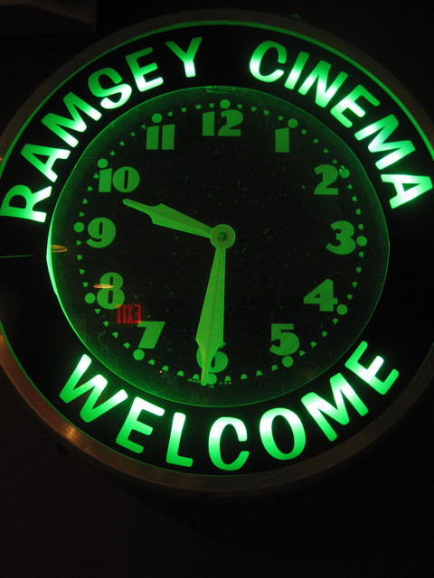 Cinema Clock