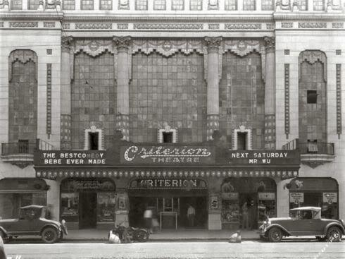 Criterion Theater, Oklahoma City, 1920's