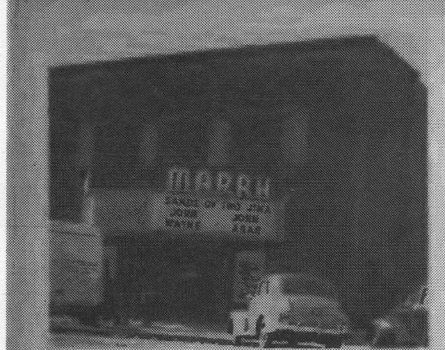 Marrh Theatre