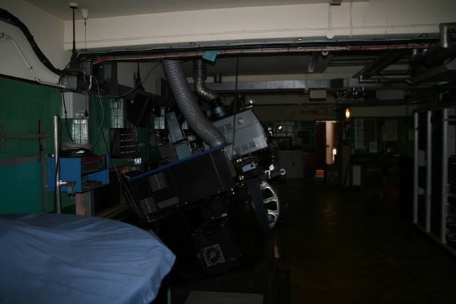 Projection booth 2011