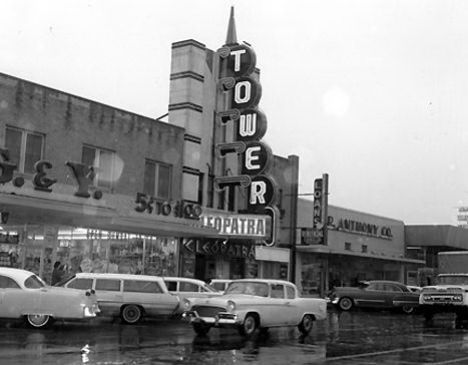 Tower Theater, Oklahoma City, 1963