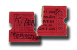 """""""It's Alive"""" Ticket stub for the Marion-Aire"""