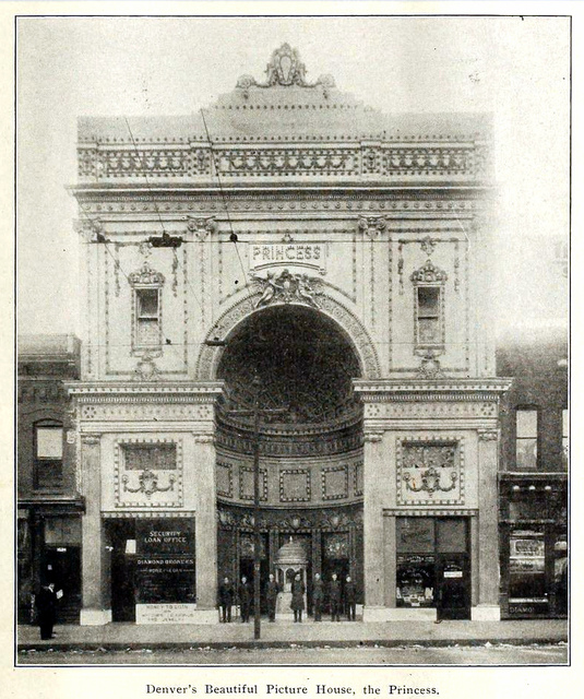 Princess Theatre, Denver in 1911