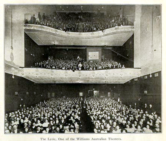 Lyric Theatre, Sydney in 1911