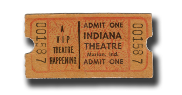 Indiana Ticket
