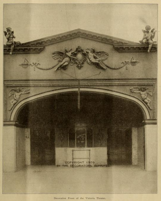 Victoria Theatre, Chicago ILL in 1911