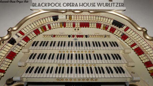 The Opera House Wurlitzer Keyboards