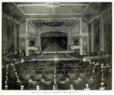 Alhambra Theatre, Cleveland OH in 1911 - Screen and Auditorium