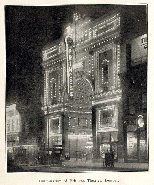 Princess Theatre, Denver CO in 1913