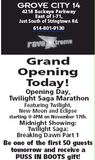 Grand opening ad from November 16th, 2011