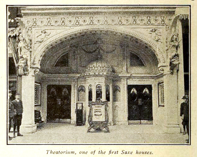 Theatorium Theatre, Milwaukee 1914