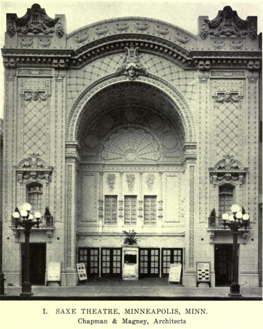Saxe Theatre,  Minneapolis