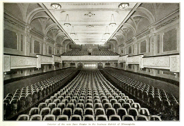 Saxe Theatre, Minneapolis 1914