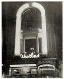 West End Theatre, Coventry Street, London in 1914