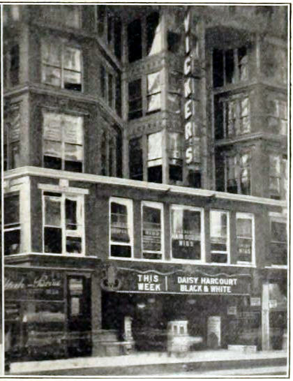 McVickers Theatre, Chicago in 1914