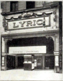 Lyric Theatre, Chicago in 1914