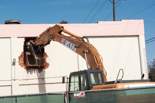 Atlantic Theater Demolition