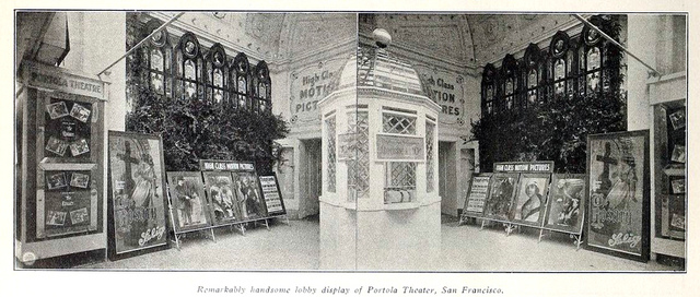 Portola Theater, San Francisco, CA in 1915