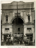 Princess Theatre, Denver CO in 1915