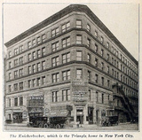 Knickerbocker Theatre, New York in 1915