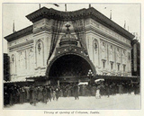 Coliseum Theatre, Seattle WA in January 1916