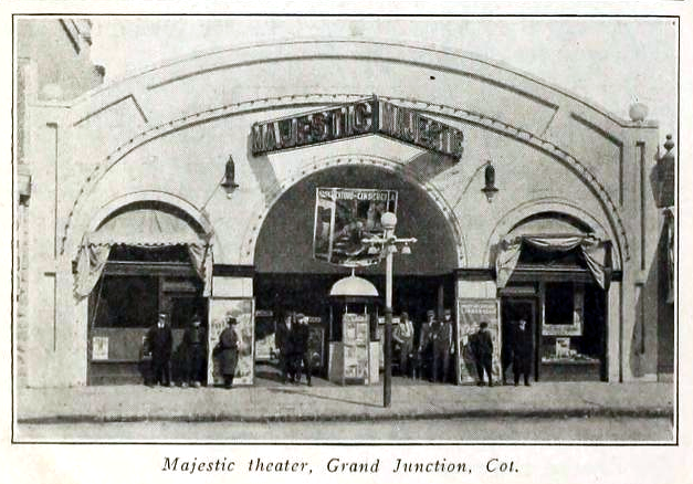 Majestic Theatre, Grand Junction, CO in 1916