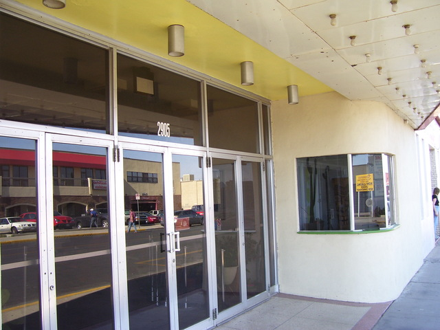 Pershing Theater Entrance