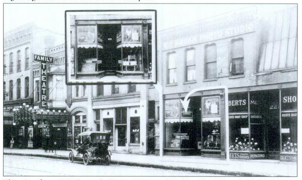 Family Theatre, Davenport IA in 1920