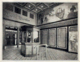 Majestic Theatre, Columbus OH in 1916 - Entrance Lobby and Ticket Booth