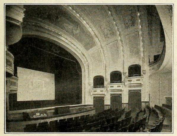 Majestic Theatre, Columbus OH in 1916 - Interior