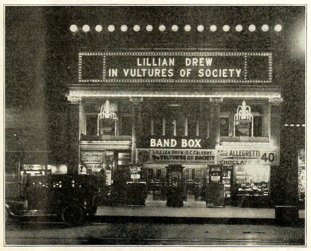 Band Box Theatre, Chicago ILL in 1916