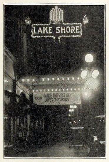 Lake Shore Theatre, Chicago ILL in 1916