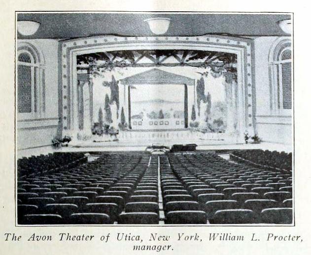 Avon Theatre, Utica, New York in 1916 - Interior