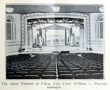 Avon Theatre, Utica, New York in 1916 - Interior