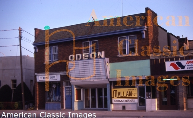 The Odeon Theatre - 1981