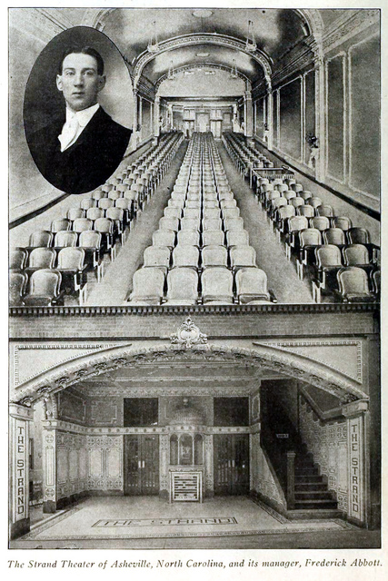 Strand Theater, Asheville, North Carolina in 1916