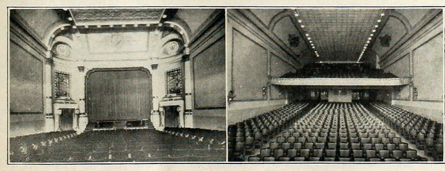 Wareham Theatre, Manhattan, Kansas in 1916 - Interior