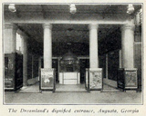 Dreamland Theatre, Augusta GA in 1916 - Entrance