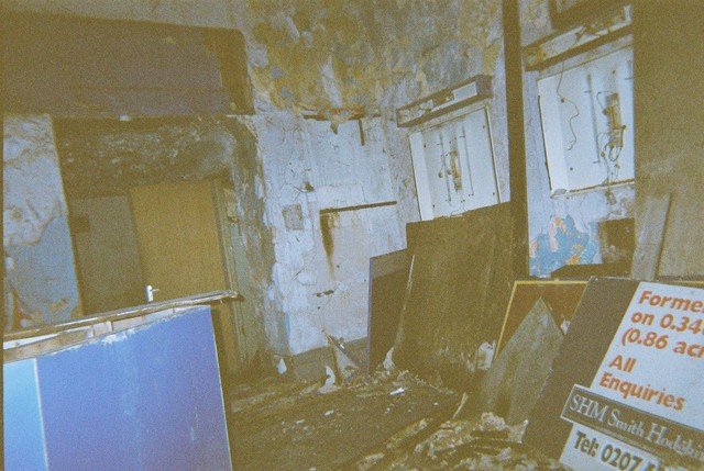 Derelict foyer area