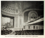 Rialto Theatre, Broadway, New York in 1916 - Auditorium