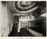 Rialto Theatre, Broadway, New York in 1916 - Interior