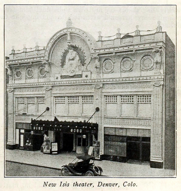 Isis Theatre, Denver CO in 1916