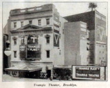 Triangle Theatre, Booklyn, New York in 1916