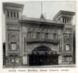 Oxford Theatre, State Street & Flatbush Avenue, Brooklyn, New York in 1916